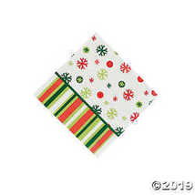 Bright Christmas Beverage Napkins - $2.61