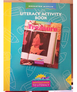 Literacy Activity Book worksheet vocabulary, comprehension and Spelling ... - $4.99