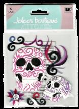 Jolee's Boutique Tattoo Skulls, Dimensional Stickers