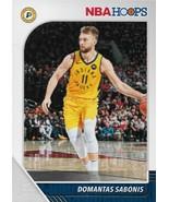 Domantas Sabonis NBA Hoops 19-20 #76 Indiana Pacers Oklahoma City Thunder - $0.15
