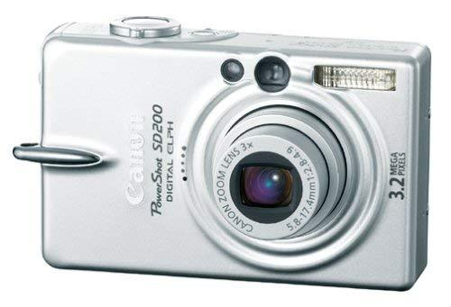 Primary image for Canon Powershot SD200 3.2MP Digital Elph Camera with 3x Optical Zoom (OLD MODEL)