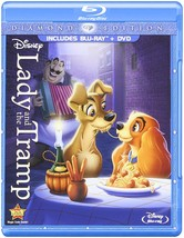 Disney Lady and the Tramp (Diamond Edition Two-Disc Blu-ray/DVD Combo)
