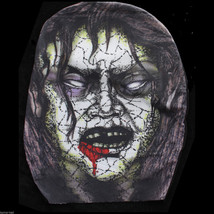 Full Head Zentai Morph Stretch ZOMBIE MASK Horror Costume Accessory-BLOO... - £2.92 GBP