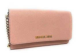 Michael Kors Women's Jet Set Travel Small Crossbody Bag (Ballet) - $116.29
