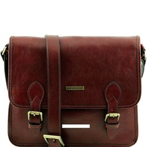 Tuscany Leather TL POSTMAN Genuine Leather Messenger Bag - $209.47