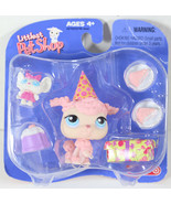 2005 Littlest Pet Shop TARGET EXCLUSIVE PINK FRENCH POODLE BIRTHDAY Toy ... - $128.69