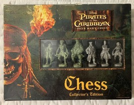Pirates of the Caribbean Dean Man's Chest Collector's Edition Chess Game... - $29.01