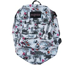 Jansport Disney Day in the Park Backpack Bag Mickey Minnie NEW #JS0A3BB33D3 - $1.304,40 MXN