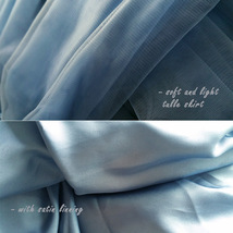 DUSTY BLUE Tulle Maxi Skirt High Waisted Dusty Blue Wedding Skirt (US0-US30) image 12