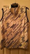 NWT Ladies GG BLUE SADIE Navy Lavender Yellow GOLF Sleeveless Polo Shirt... - $38.99