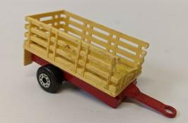 Vintage 1979 Matchbox Lesney Toy Trailer For TP-19 Cattle Truck - $8.00