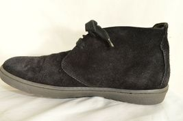 Vince shoes boots hi top US 8 EU 41 black suede leather upper leather lining image 11