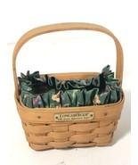 Longaberger 1998 Hostess Appreciation Basket With Liner & Protector Made... - $19.79