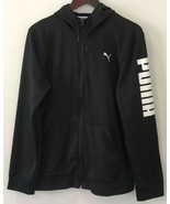 Puma Men's Jacket Size Medium Prospect Poly Fleece Hoodie Full Zip Warm ... - $39.60