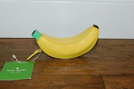 Rare! New Nwt Kate Spade Flights Of Fancy Banana Coin Purse Leather Pouch Wallet - $89.10