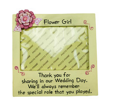 Flower Girl Picture Frame Photo Frame Flower Girl Gifts Wedding Party Gifts - $16.34
