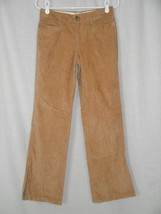 Banana Republic Beige Velour Pants Bootcut Size 2 30 x 31 - $12.60