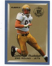 1993 FLEER PROSPECT INSERT CARD #20 COLEMAN RUDOLPH - JETS - $0.99