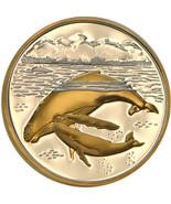 Alaska Mint Humpback Whale Medallion Silver Gold Medallion Proof 1 Oz. - $98.99
