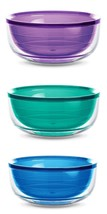 Tervis Tumbler BOWL 18oz Soup Cereal Purple, Blue or Green Double Wall I... - $19.99