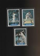 1982 Fleer Yankees Tommy John Graig Nettles Lou Piniella - $1.40