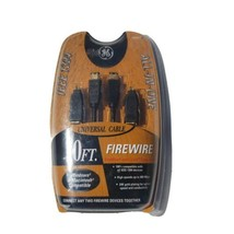 GE Firewire Universal Cable All-In-One 10 ft. IEEE 1394 3-in-1 - $16.82