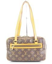 Authentic LOUIS VUITTON Cite MM Monogram Canvas Shoulder Hand Bag Purse ... - $529.00