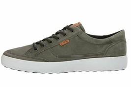 ECCO Men's Soft Fashion Sneaker, Wild Dove grey, 39 EU / 5-5.5 US - $88.99