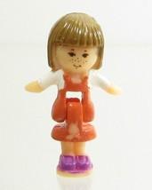 1994 Vintage Polly Pocket Dolls Pony Ridin' Show - Tawny Bluebird Toys - $7.50