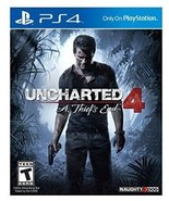 Uncharted 4: A Thief's End - PlayStation 4 [video game] - $39.20