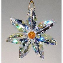 Aurora Borealis Crystal Daisy image 1