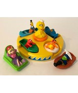 Sesame Street Vintage Floating Bath Toy Puzzle and Muppets Boats Tyco Ji... - $47.49