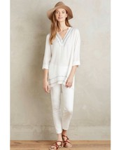 New Anthropologie Grand Bazaar Tunic by Dolan Left Coast SMALL  White - $39.60
