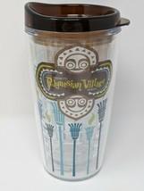 Polynesian Village Resort Plastic Tumbler With Lid Disney Parks - $29.99