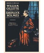 William Gillette as Sherlock Holmes: Farewell to the Stage - Art Print - $19.99 - $24.99