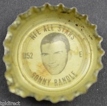 Coca Cola NFL All Stars King Size Bottle Cap Sonny Randle St. Louis Card... - $6.99