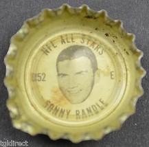 Coca Cola NFL All Stars King Size Bottle Cap Sonny Randle St. Louis Cardinals - $6.99
