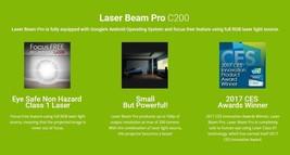 Laser Beam Pro C200 200-Lumen WXGA Pico Projector with Wi-Fi image 2