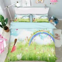 3D Rainbow 234 Bed Pillowcases Quilt Duvet Cover Set Single Queen King Size AU - $64.32+