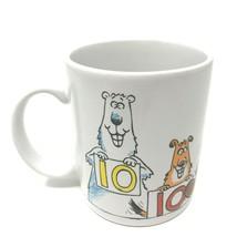 Hallmark Shoebox Greetings Coffee Mug Cup 50th Birthday 50 is 5 Perfect 10's! - $7.99