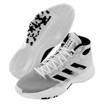 adidas Pro Bounce Madness 2019 Men's Basketball Shoes Casual White BB9235 - $158.01