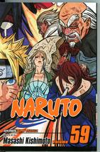 Naruto 59 The Five Kage Masashi Kishimoto Manga Graphic Novel Japan Shon... - $5.00