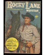 ROCKY LANE WESTERN #2 1949-FAWCETT MOVIE PHOTO COVER VG - $94.58