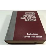1978 Motor Imported Car Repair Manual 3rd Edition Professional Trade Har... - $19.99