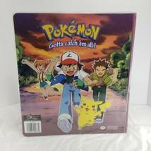 Vintage Nintendo Creatures Game Freak 3 Ring Pokemon Binder 1995-1998 Empty - $38.69