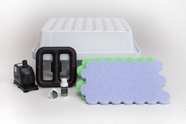 EZ-Clone Low Pro 64 Cutting Complete System White Aeroponic Hydroponic P... - $373.56