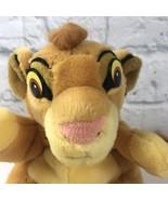 "Vintage Applause Lion King Simba Puppet Plush Stuffed Animal 8"" EUC - $11.94"