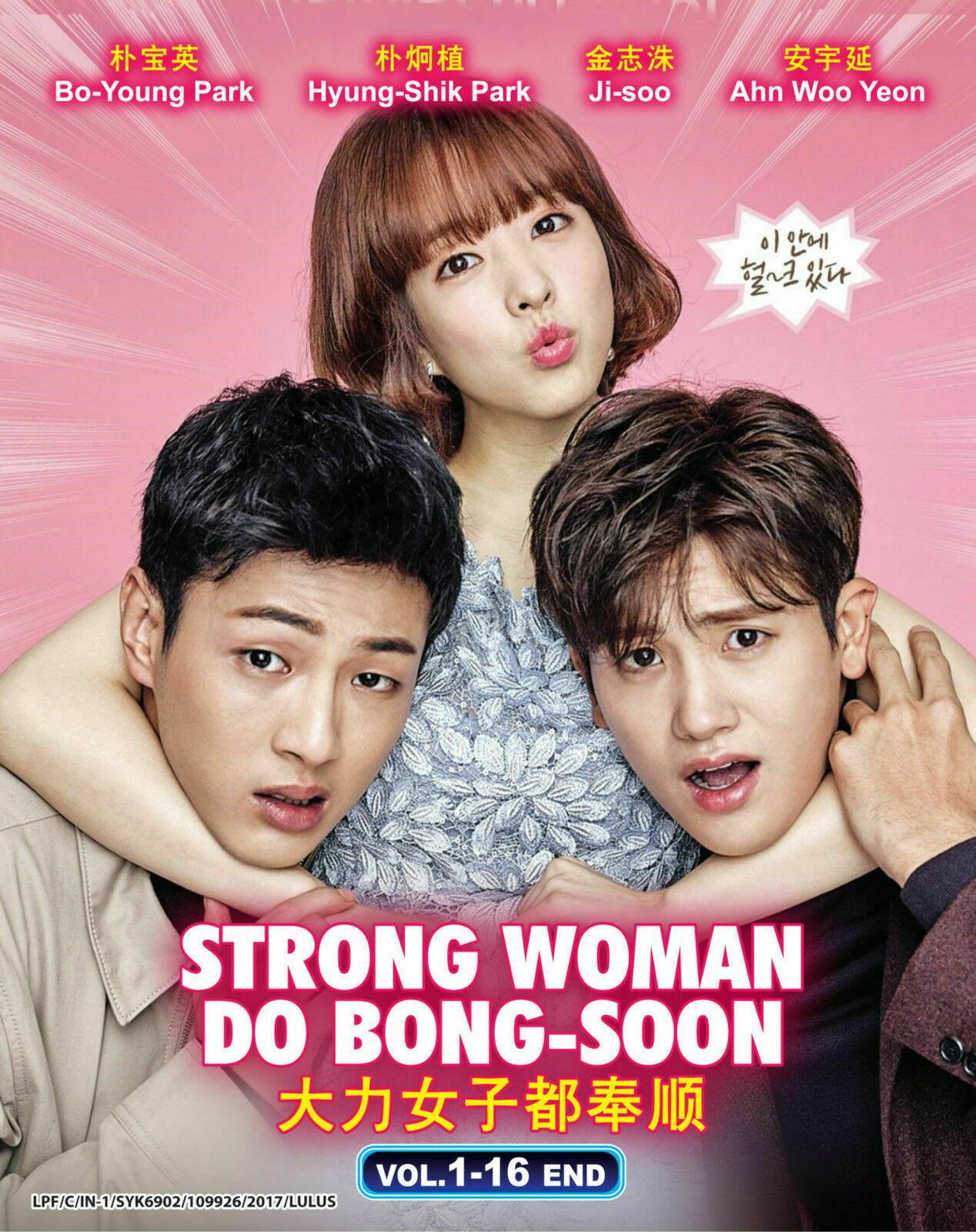 Korean Drama Strong Woman Do Bong Soon Korean TV Dvd English Sub Ship From USA