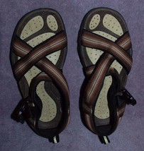 KEEN Women's Brown Open Toe Sandals Anatomic Footbed Size 7 Washable EUC - $39.95