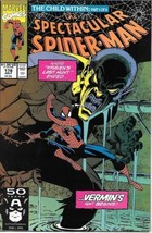 The Spectacular Spider-Man Comic Book #178 Marvel Comics 1991 VERY FINE+ - $2.50